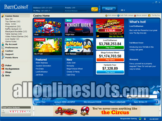 Party Line Slots | Welcome Bonus up to $/£/€400 | Casino.com