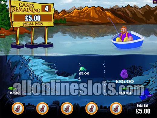 Reel em in big bass bucks slot review for Reel em in fishing slot machine