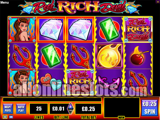 Reel Rich Devil™ Slot Machine Game to Play Free in WMS Gamings Online Casinos