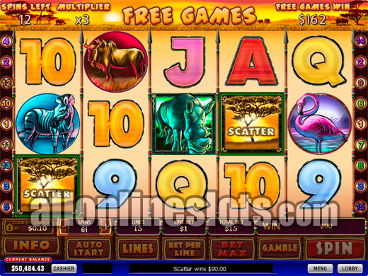 Play Safari Heat Online Pokies at Casino.com Australia
