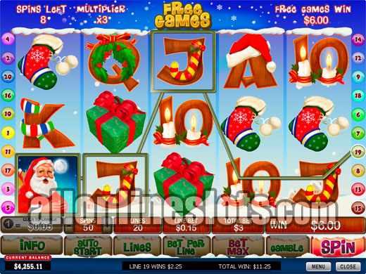 Santas Wild Ride Slot - Try Playing Online for Free