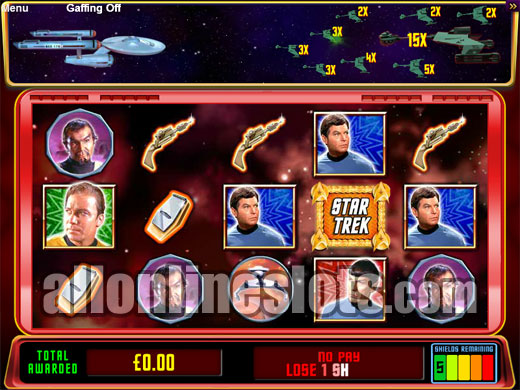 star trek red alert slots free
