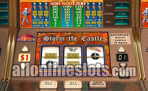 Storm the Castle™ Slot Machine Game to Play Free in Cryptologics Online Casinos