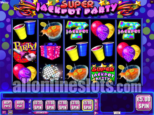 Super Jackpot Party Spelautomat - Gratis Demo Spel & Recension