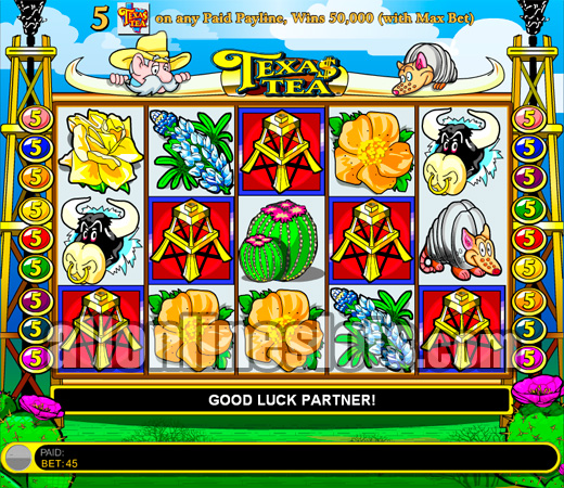 Texas Tea Slot Machine - Play the Free Casino Game Online