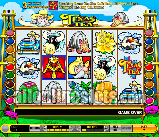 free texas tea slots no download