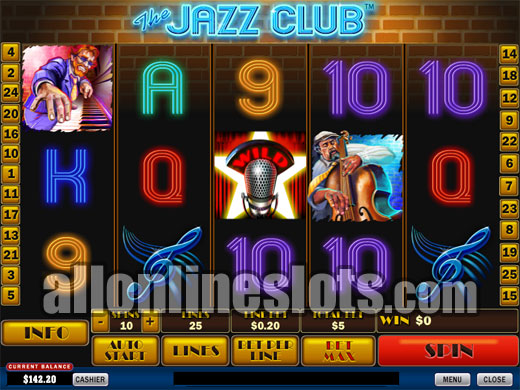 Play The Jazz Club online slots at Casino.com