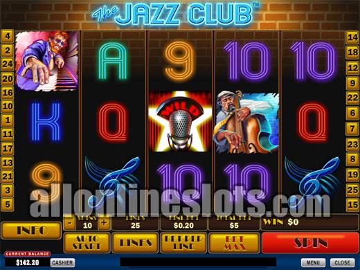Play The Jazz Club online slots at Casino.com