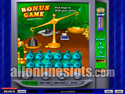 Try The Triple Profits Slot With No Download Today