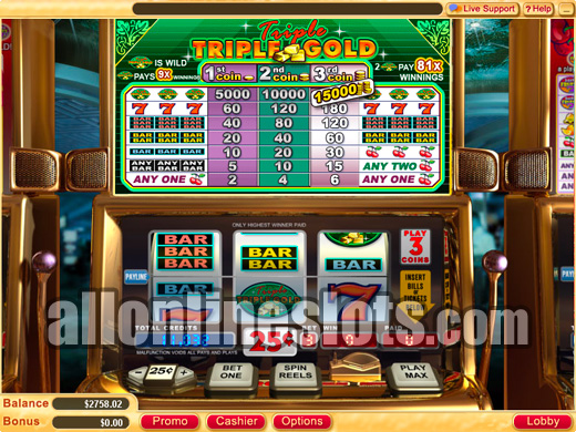 slot triple fun gold