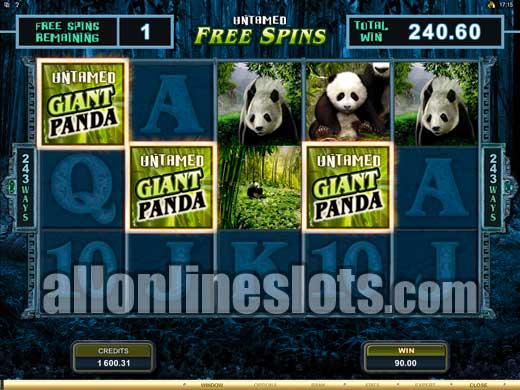 Untamed Giant Panda™ Slot Machine Game to Play Free in Microgamings Online Casinos