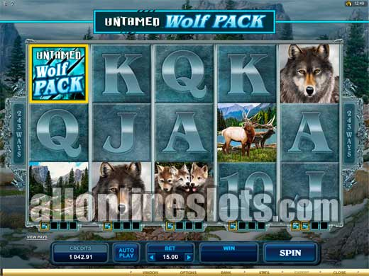 Untamed Wolf Pack Slot Machine Online ᐈ Microgaming™ Casino Slots