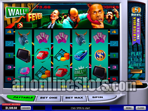 Wall St Fever Slots - Play for Free Online with No Downloads