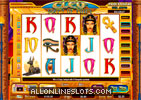 Cleo Queen of Egypt Slot Machine