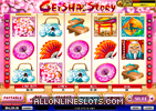 Geisha Stroy Slot Machine