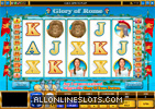 Glory of Rome Slot Machine