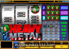 Heavy Metal Slot Machine