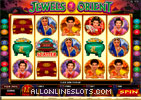 Jewels of the Orient Slot Machine