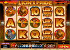 Lions Pride Slot Machine