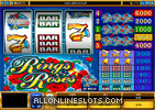 Rings and Roses Slot Machine