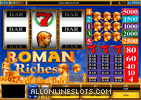 Roman Riches Slot Machine
