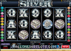 Sterling Silver Slot Machine