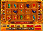 Treasure of Isis Slot Machine