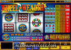 Wheel of Wealth Slot Machine